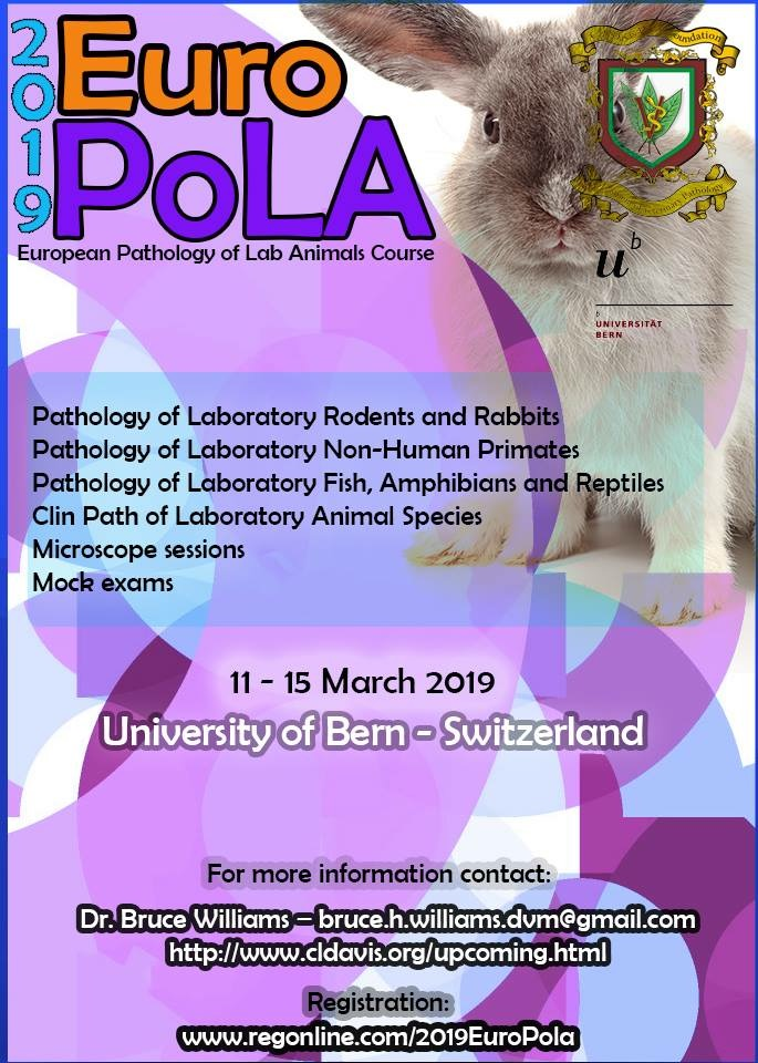 European Pathology of Lab Animals Course